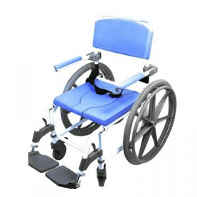 APZC180-24 rolling shower commode chair