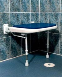 shower bench legs bluepad